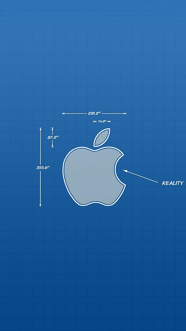 Apple blueprint iphone5 wallpaper 640x1136 iphone wallpaper apple blueprint iphone5 wallpaper 640x1136 malvernweather Images