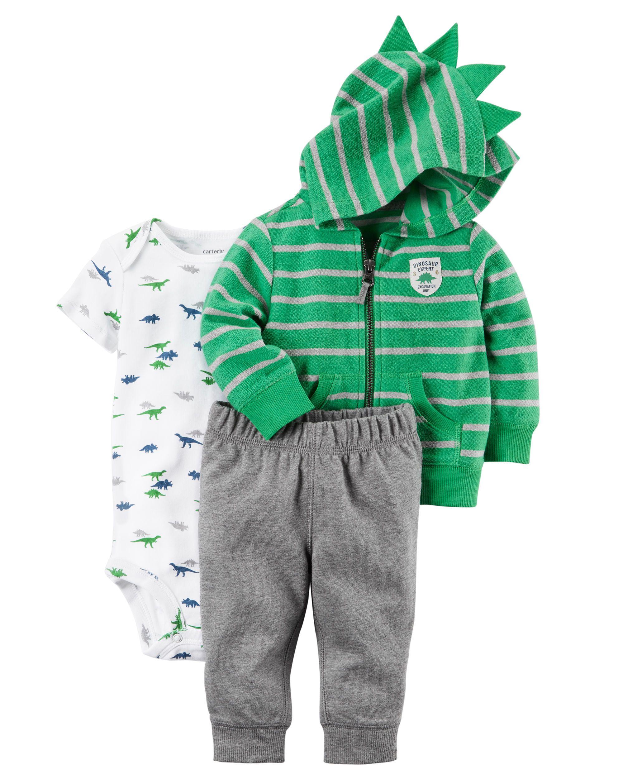 8f3893642 3-Piece Little Jacket Set   Bitty baby 2017   Carters baby boys ...