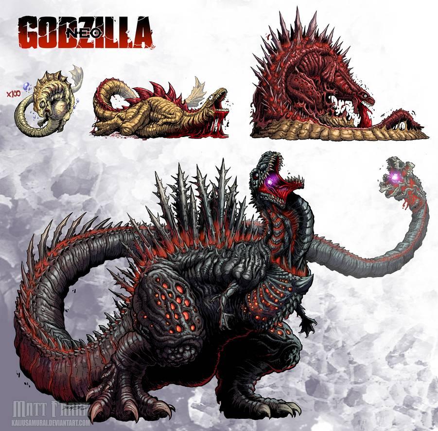 Godzilla Neo Shin Godzilla By Kaijusamurai On Deviantart Godzilla Wallpaper Godzilla All Godzilla Monsters