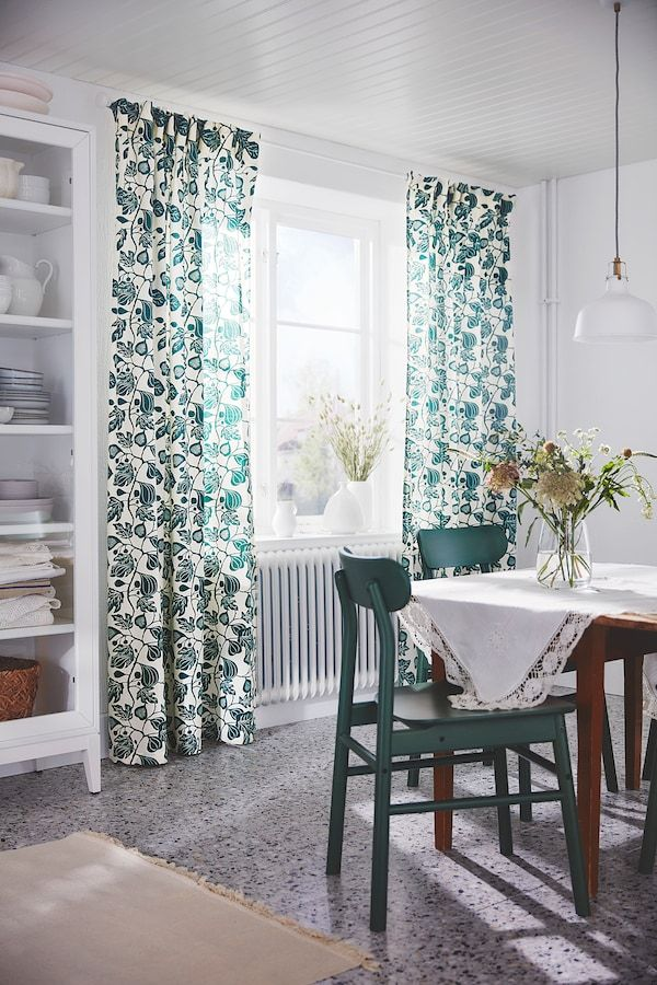 Ikea Kvartal Curtain In 2020: ALPKLÖVER Curtains, 1 Pair