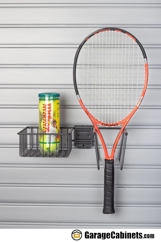 Tennis Equipment Holder Slatwall Accessory Tennis Equipment Slatwall Accessories Slat Wall
