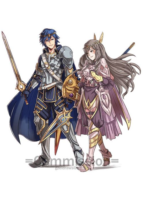 Chrom X Sumia (Fire Emblem Awakening) | Nintendo: The True ...