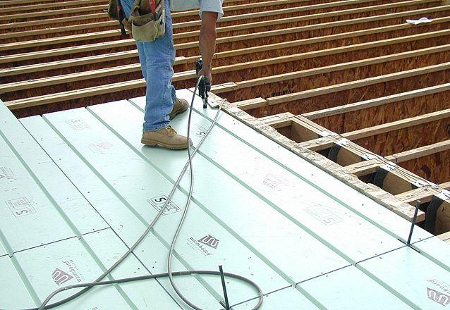 Installation Of Warmboard Radiant Subfloor Radiant Heat