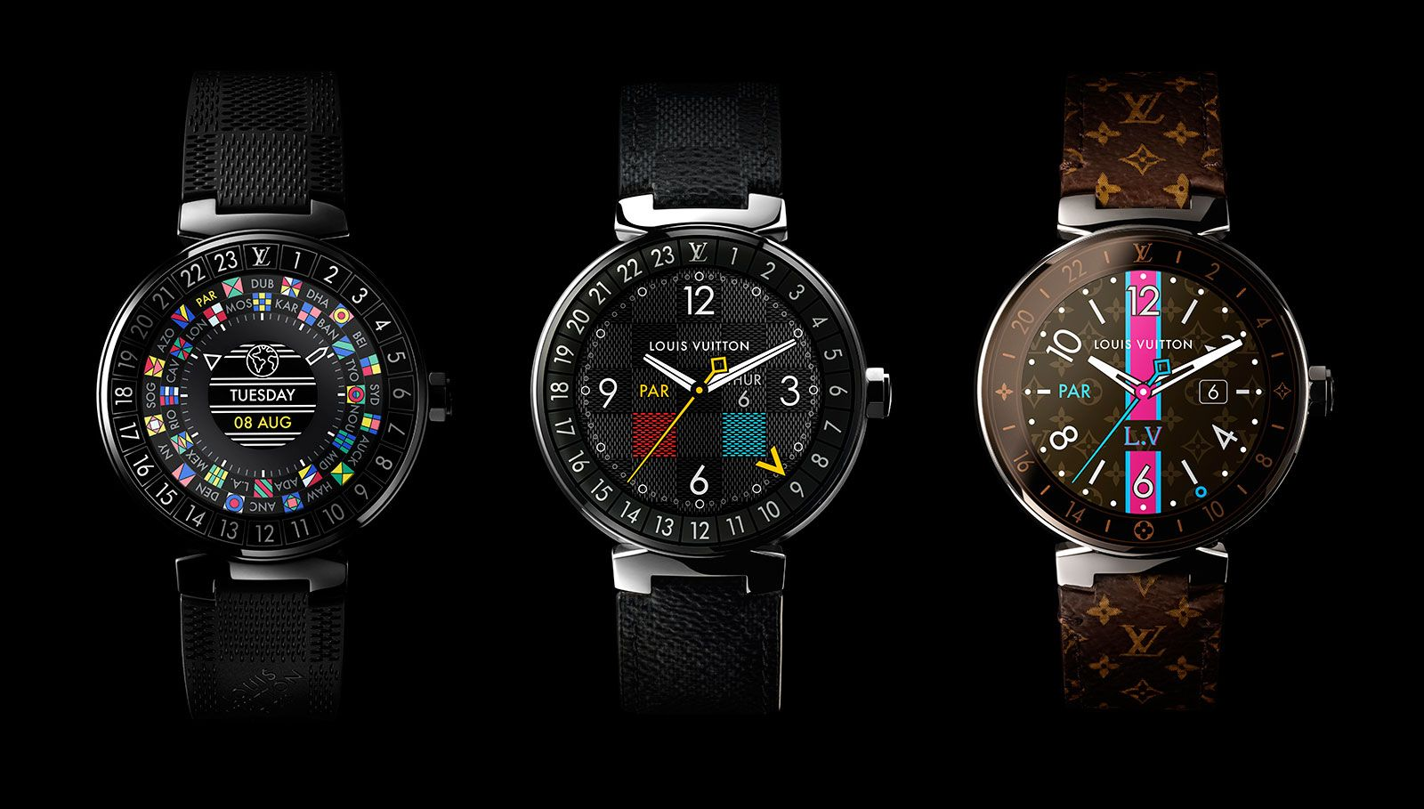 Louis Vuitton Tambour Horizon smartwatch 1