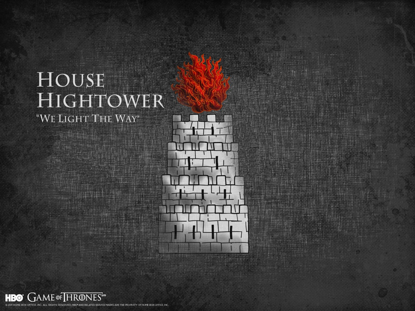 house hightower we light the way the game of thrones pinterest gaming and songs. Black Bedroom Furniture Sets. Home Design Ideas