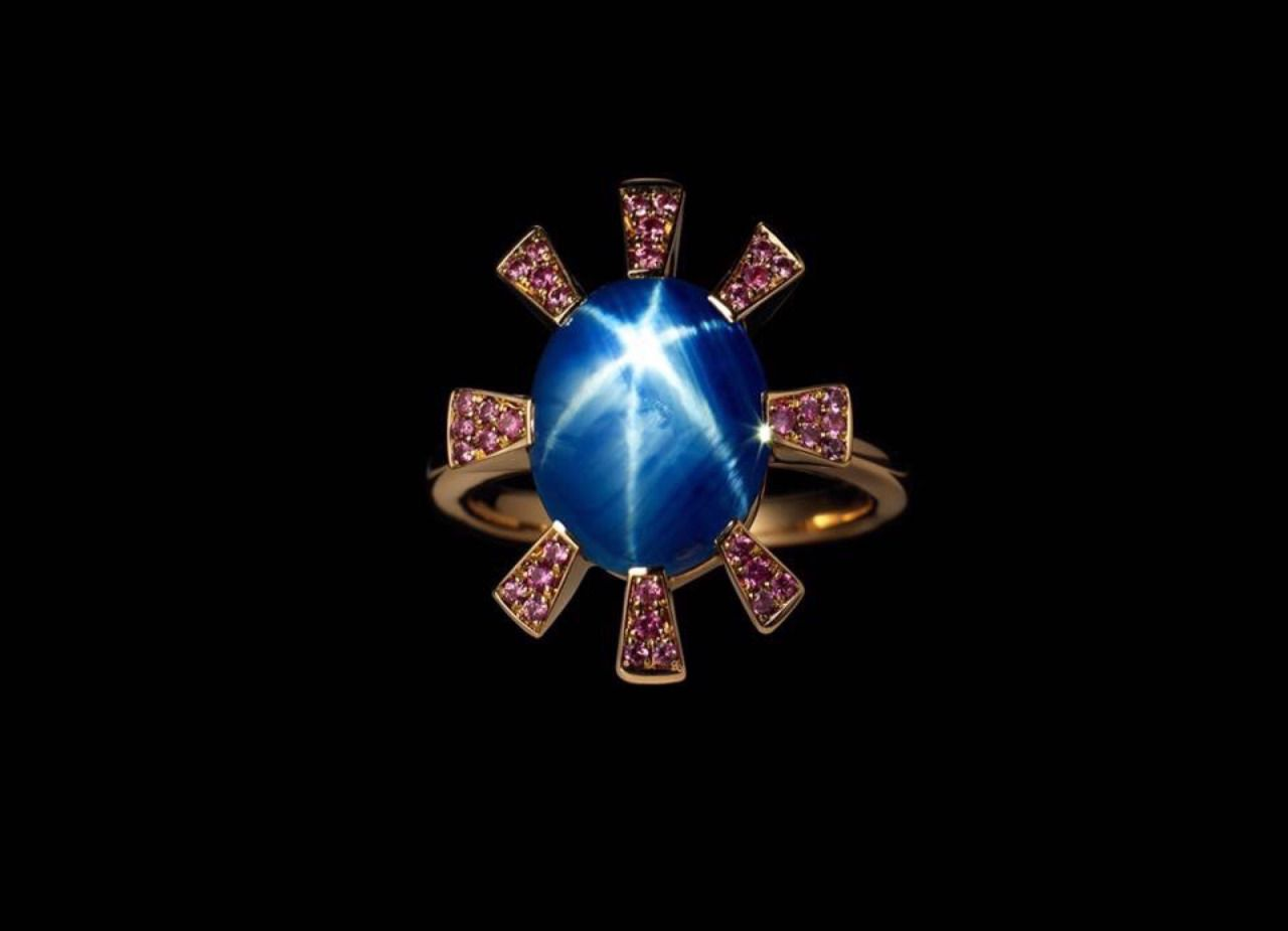 Jeweloholic.. For The Love Of All Jewellery — Reaching for the Stars ….   18K star sapphire ring...