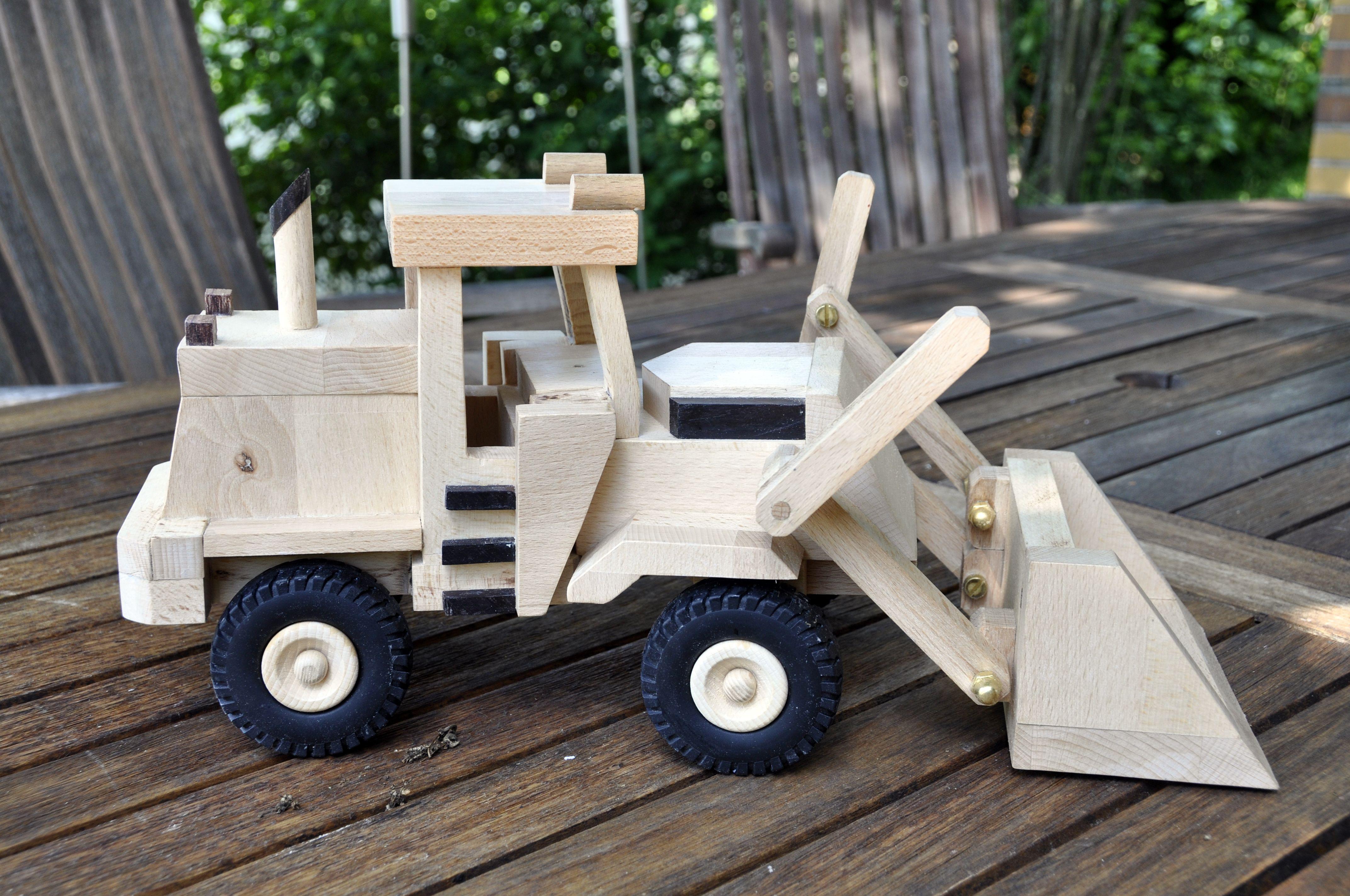 Holz Lkw Spielzeug Bauplan