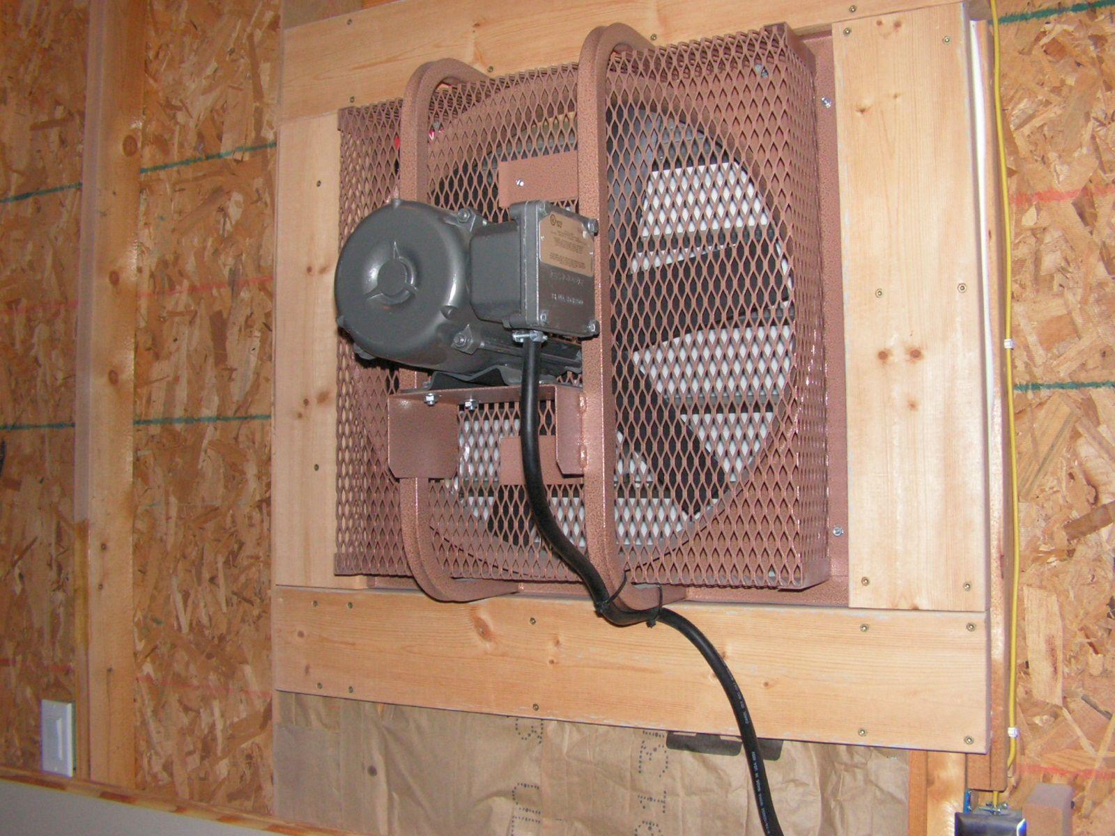 best garage ventilation fan ideas