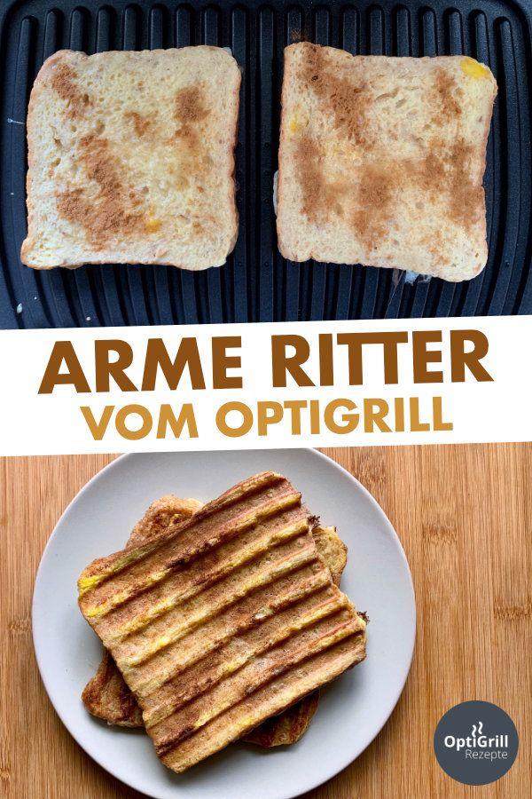 Arme Ritter: Rezept für süße Toasts vom OptiGrill