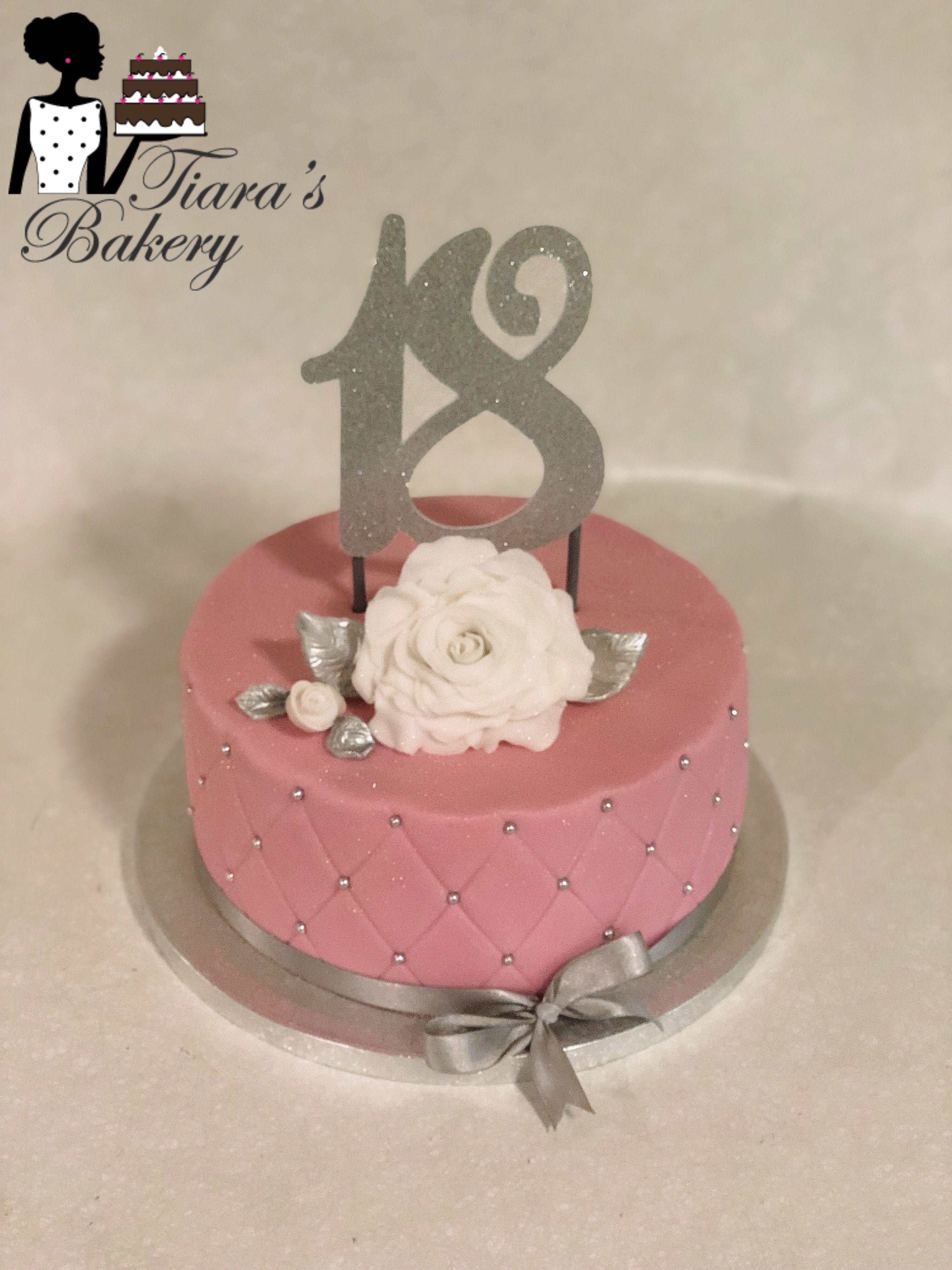 Female 18th Birthday Cake : female, birthday, Birthday, Cake,, Ladies,, Girls,, To…, Elegant, Cakes