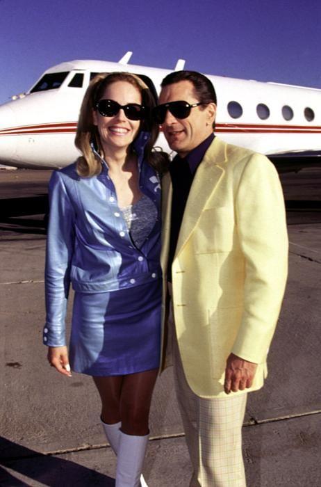 CASINO, Sharon Stone, Robert De Niro, 1995, at the airport