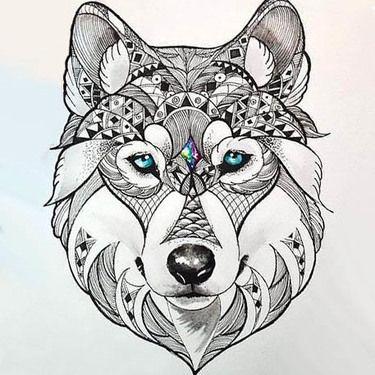 Beautiful Wolf Head Tattoo Design Wolf Tattoos For Women Head Tattoos Wolf Tattoo