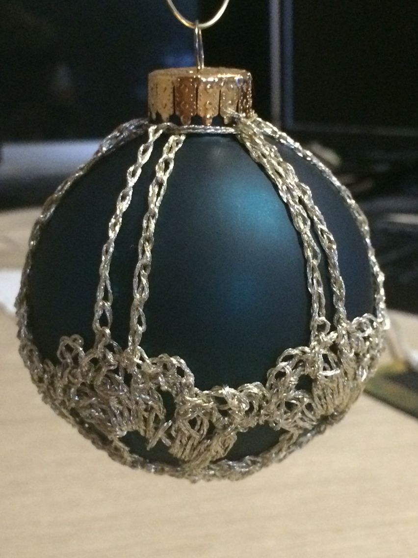 Crochet Ornament Covers Christmas Bulbs Christmas Balls Christmas Ornaments