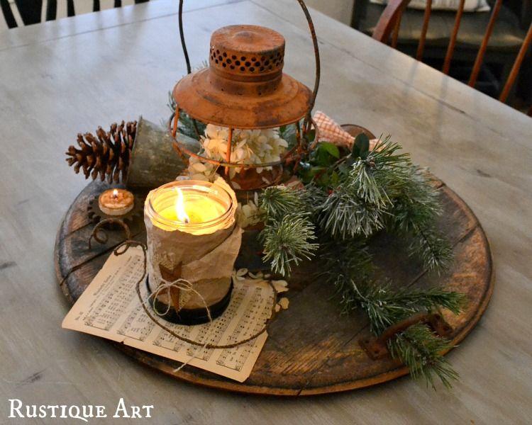 rustic christmas table centerpieces rustic table deco christmasrustic christmas table centerpieces harbor farm wreaths