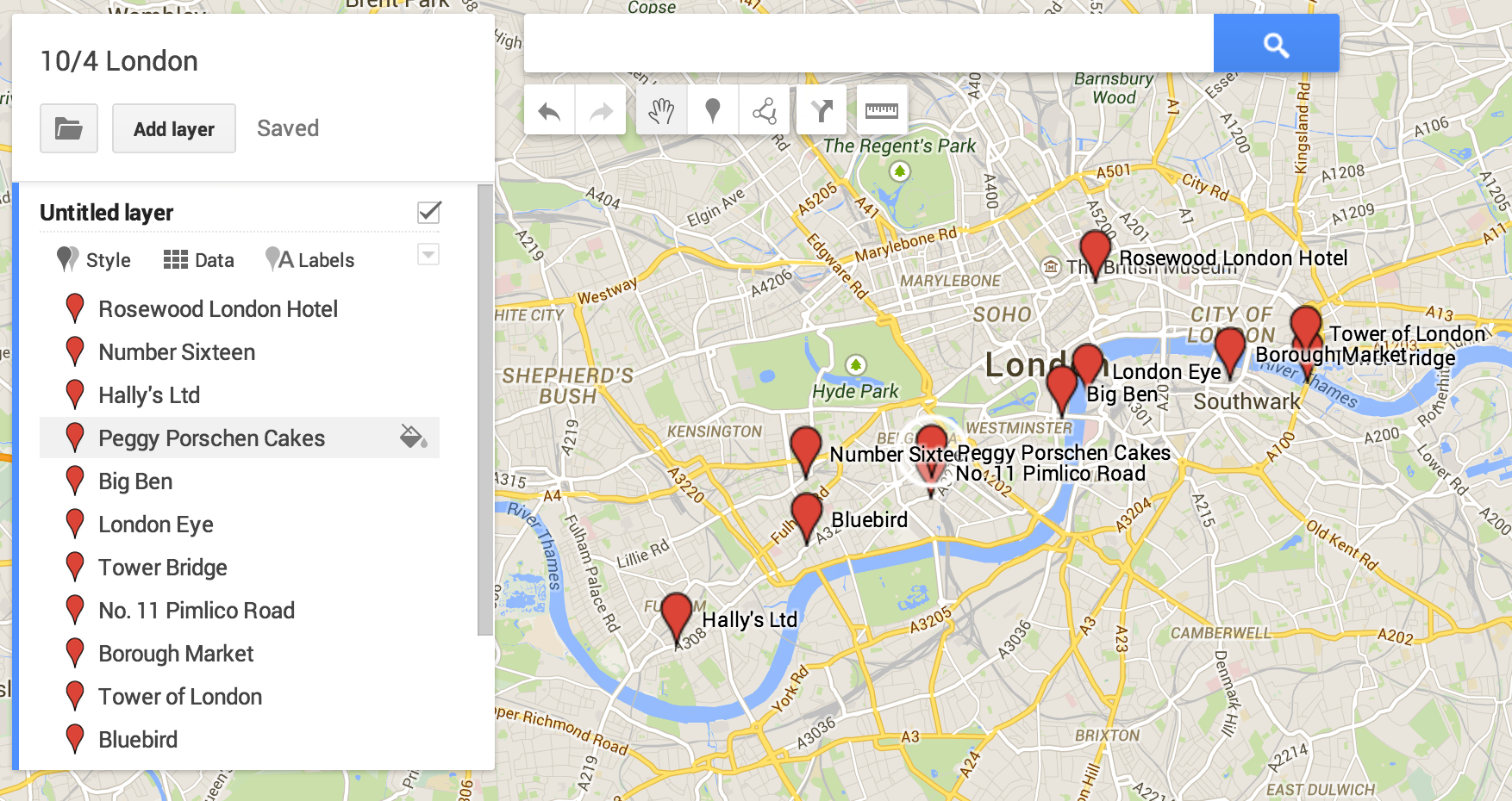 Save Your Locations On Google Maps When Planning A Trip Make Custom - Google trip planner map