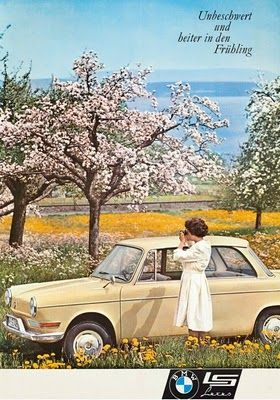 Pretty little things: Vintage BMW Ads