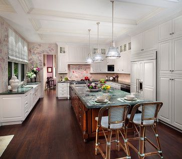 British Colonial Style Kitchen Private Residence In British Colonial Style Traditional Kitc Traditional Kitchen Remodel Kitchen Style Modern Country Kitchens