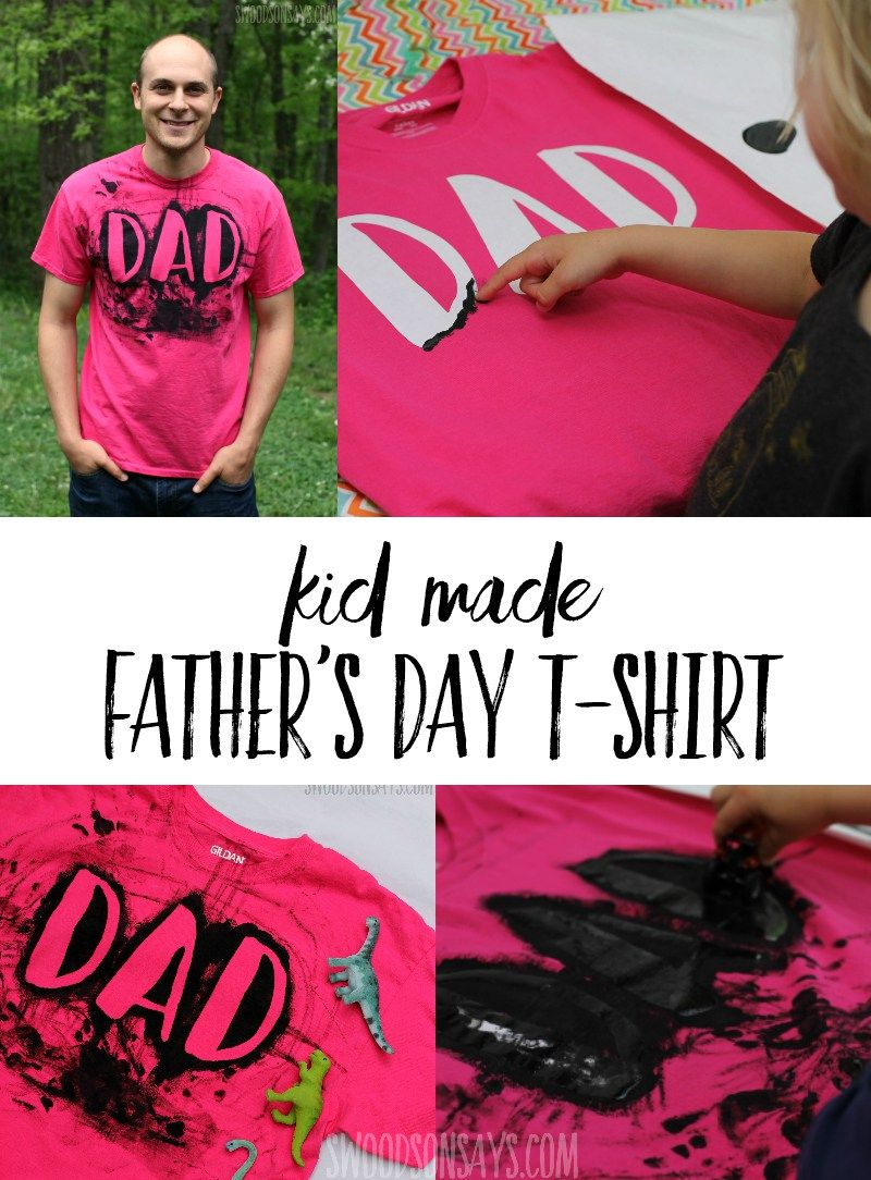Homemade T Shirt Idea For Dad Shirts Diy Father S