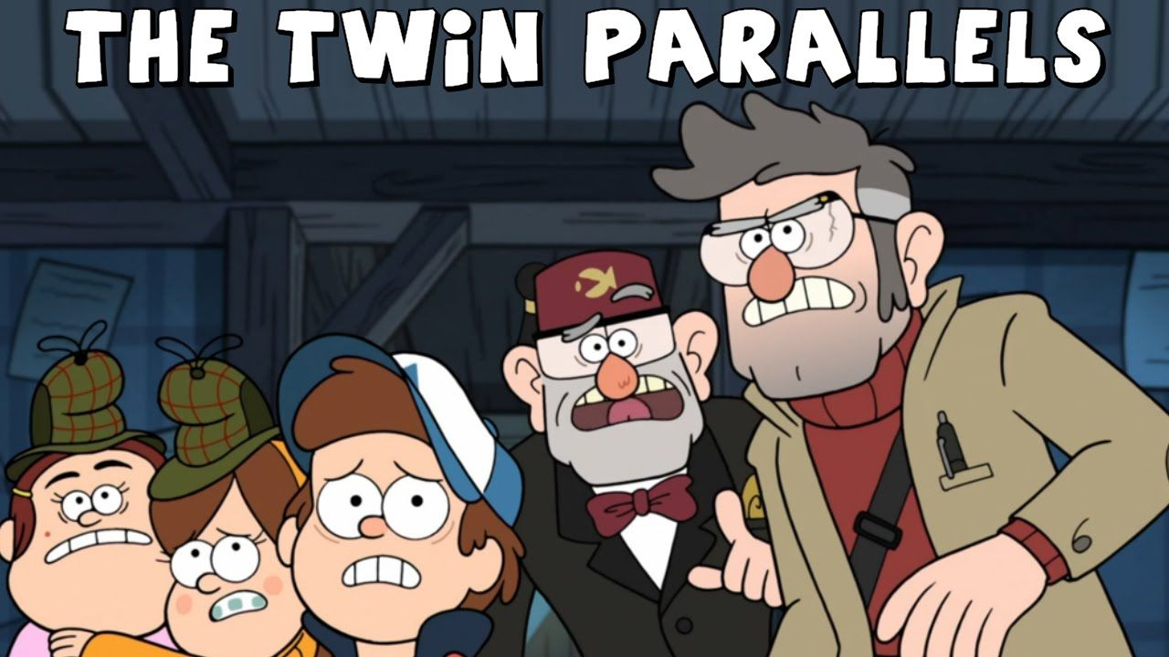 Gravity Falls The Twin Parallels Ford Dipper And Stan Mabel Gravity Falls Mabel Fall O