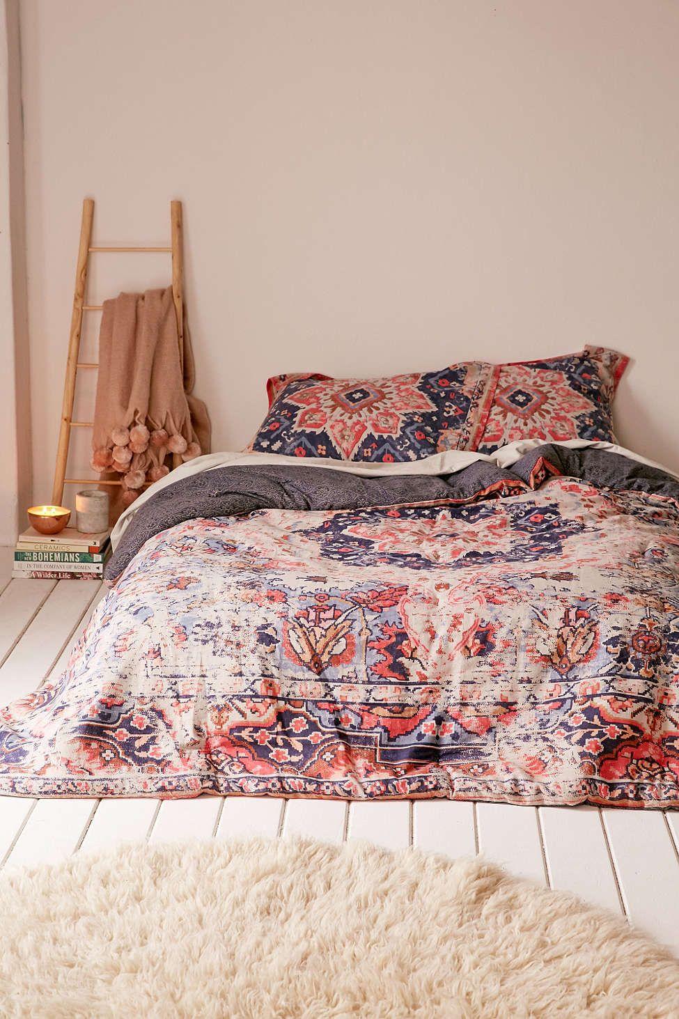 douillette semblable un tapis us berna d co pinterest couvre lit lit et mobilier de salon. Black Bedroom Furniture Sets. Home Design Ideas