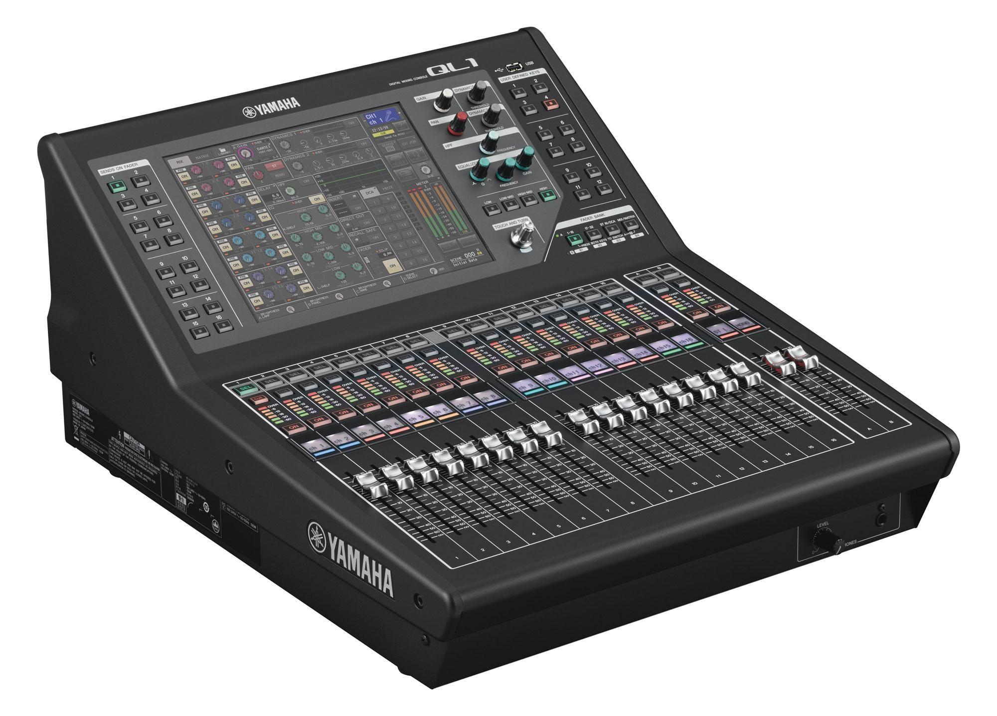 Yamaha Ql1 Digitalmixer Mischpult Musik Musikinstrumente