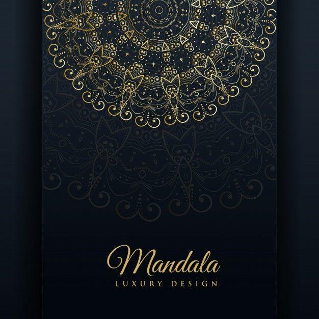 Luxo ornamental mandala desenho fundo ouro cor baixe milhares de vetores gratuitos armazenadas fotos em hd e psd reheart Image collections