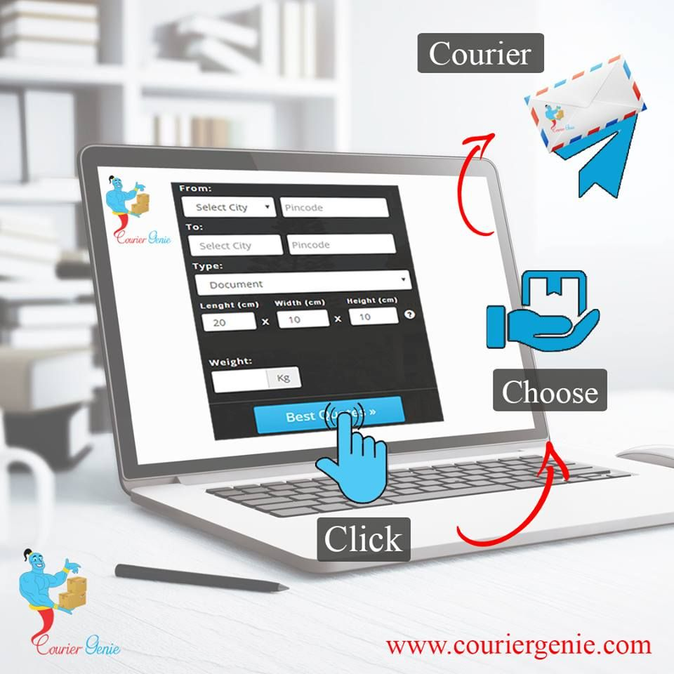 Couriergenie : Courier Booking Online These days most of the people