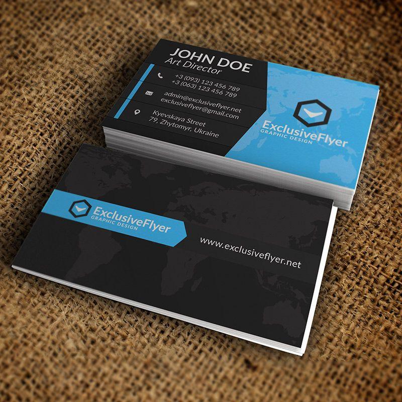 Visitenkarten Premium Vorlagen Auch Die Business Card
