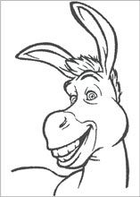 Donkey Coloring Pages Printable Nativity Coloring Pages Animal