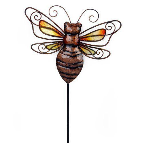 Ble Bee Garden Stick Or Wall Decor 2 89 Outdoor