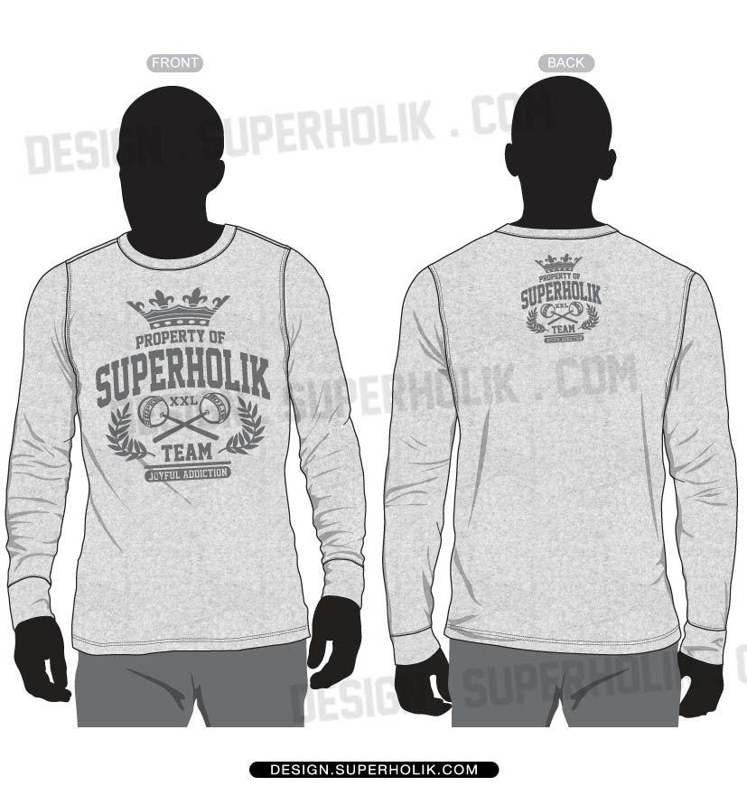 Download Basic Long Sleeve Shirt Template Vector Set 7 25 Shirt Sketch Basic Long Sleeve Shirt Fashion Design Template