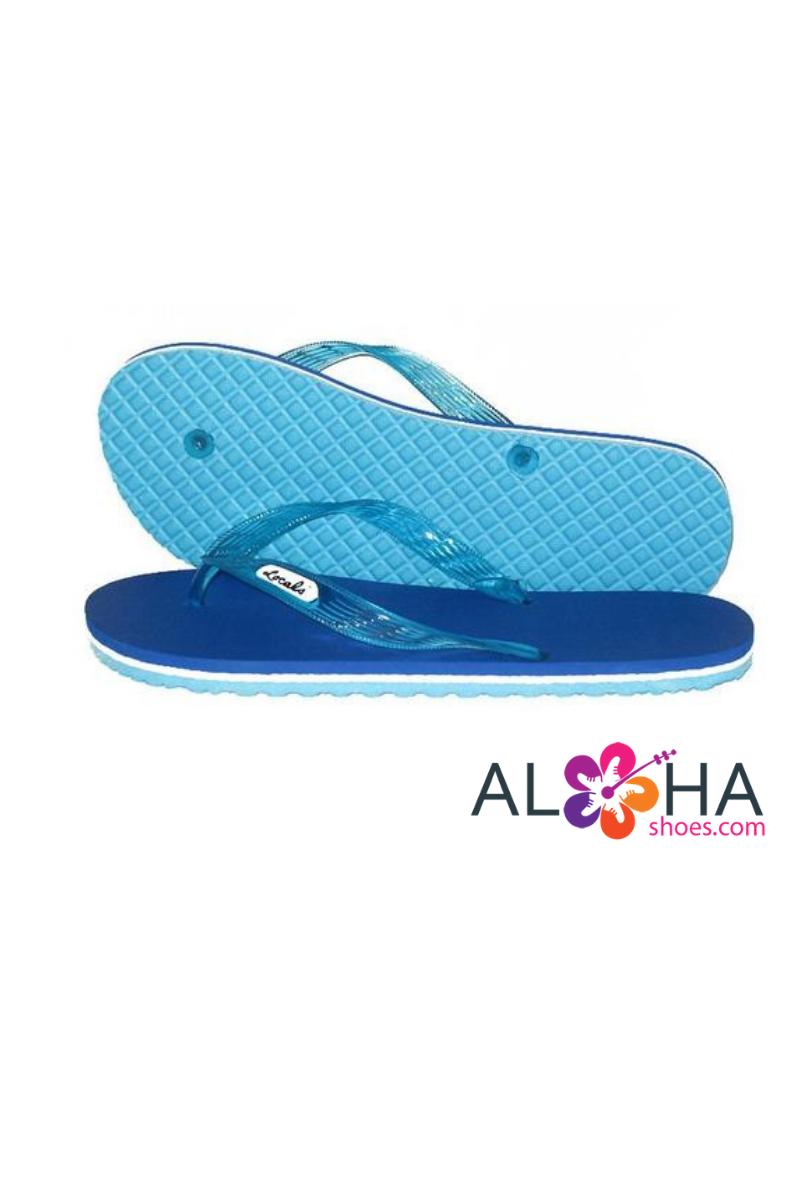 b40e0d2daab Locals Women s Slippers Striped Rubber Flip Flops from Hawaii ...