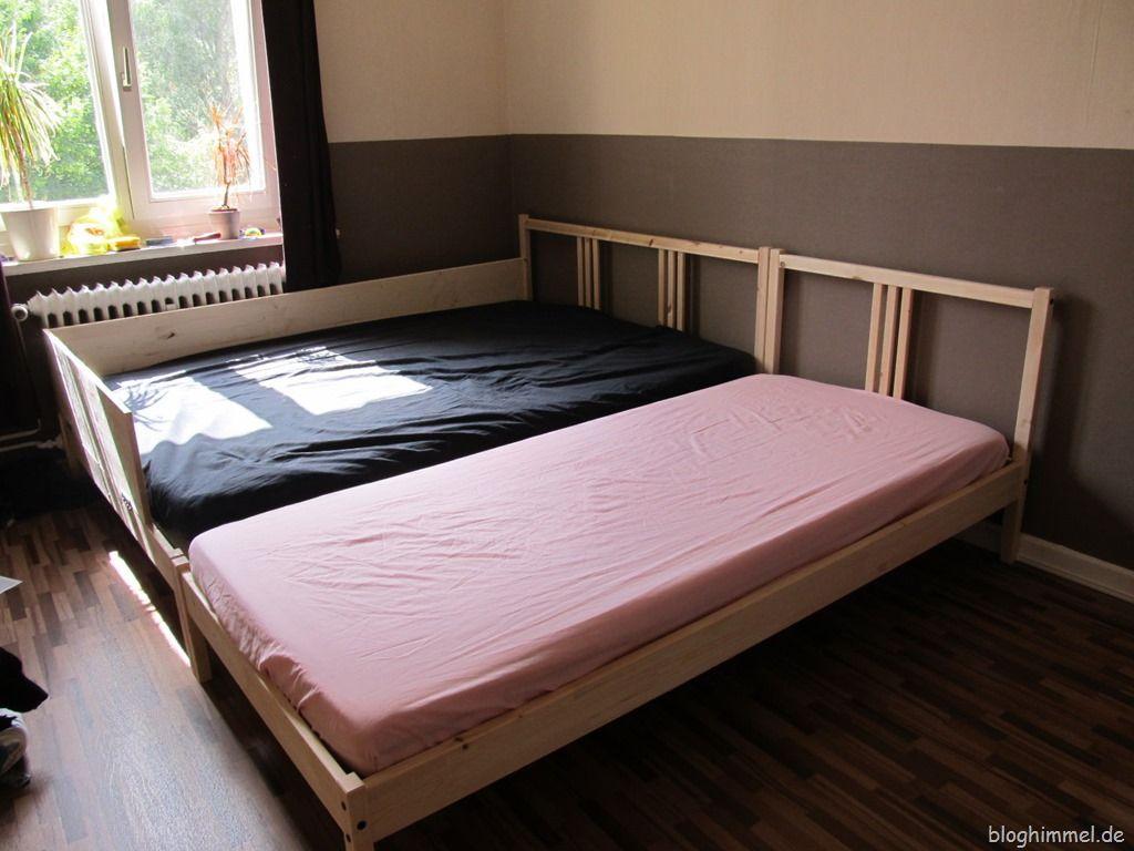 Schlafzimmer Verschenken ~ Günstiges ikea bett schlafzimmer pinterest familienbett da