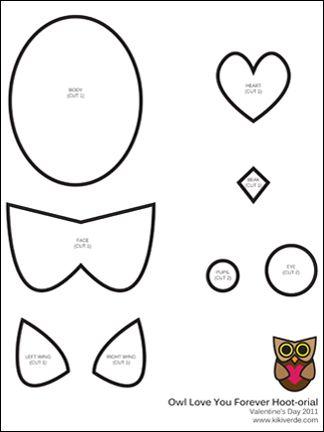 Free Printable Owl Hoot Orial From Kiki Verde Handmade Make A