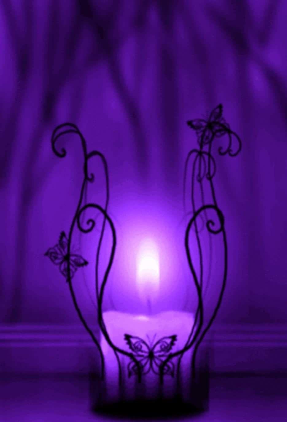 Do You Love Purple Pc Fb Purple Candles Purple Aesthetic Purple Wallpaper