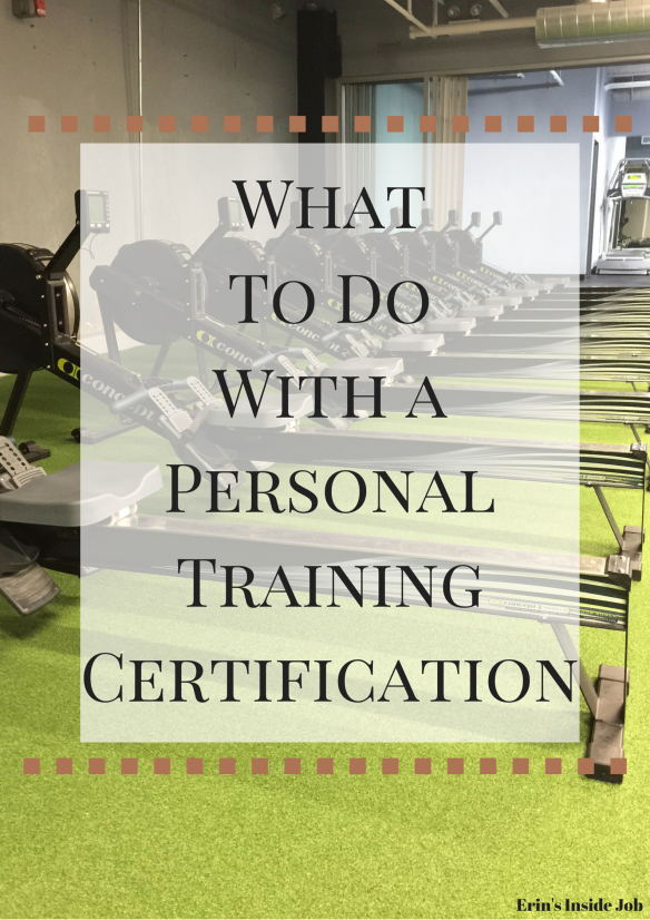 What To Do With A Personal Training Certification Fitness