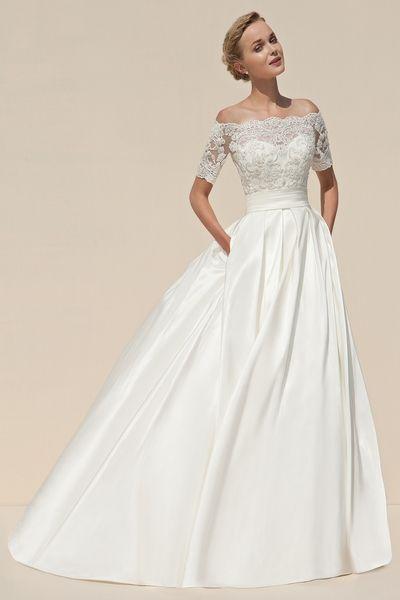 Simple But Beautiful Wedding Dress
