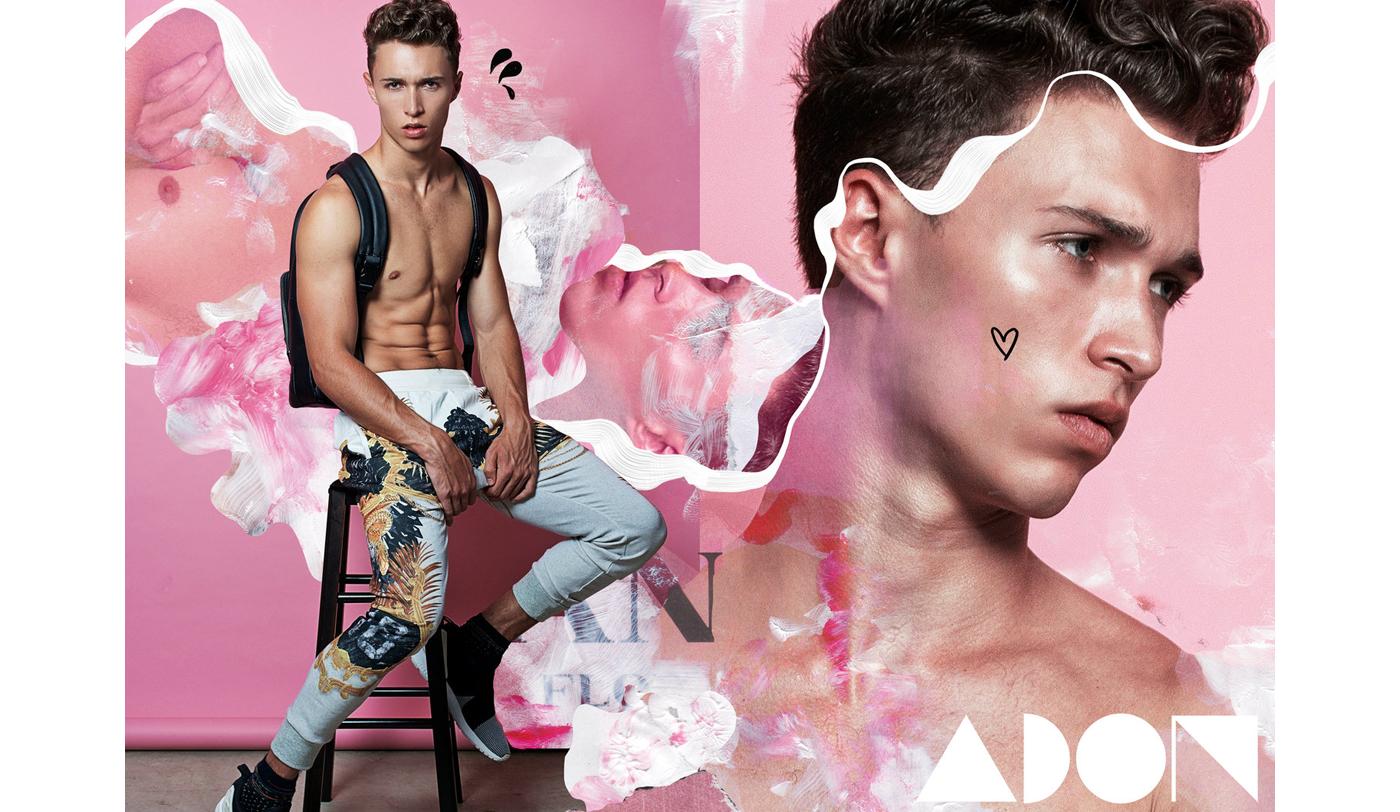Exclusive set for ADON Magazine