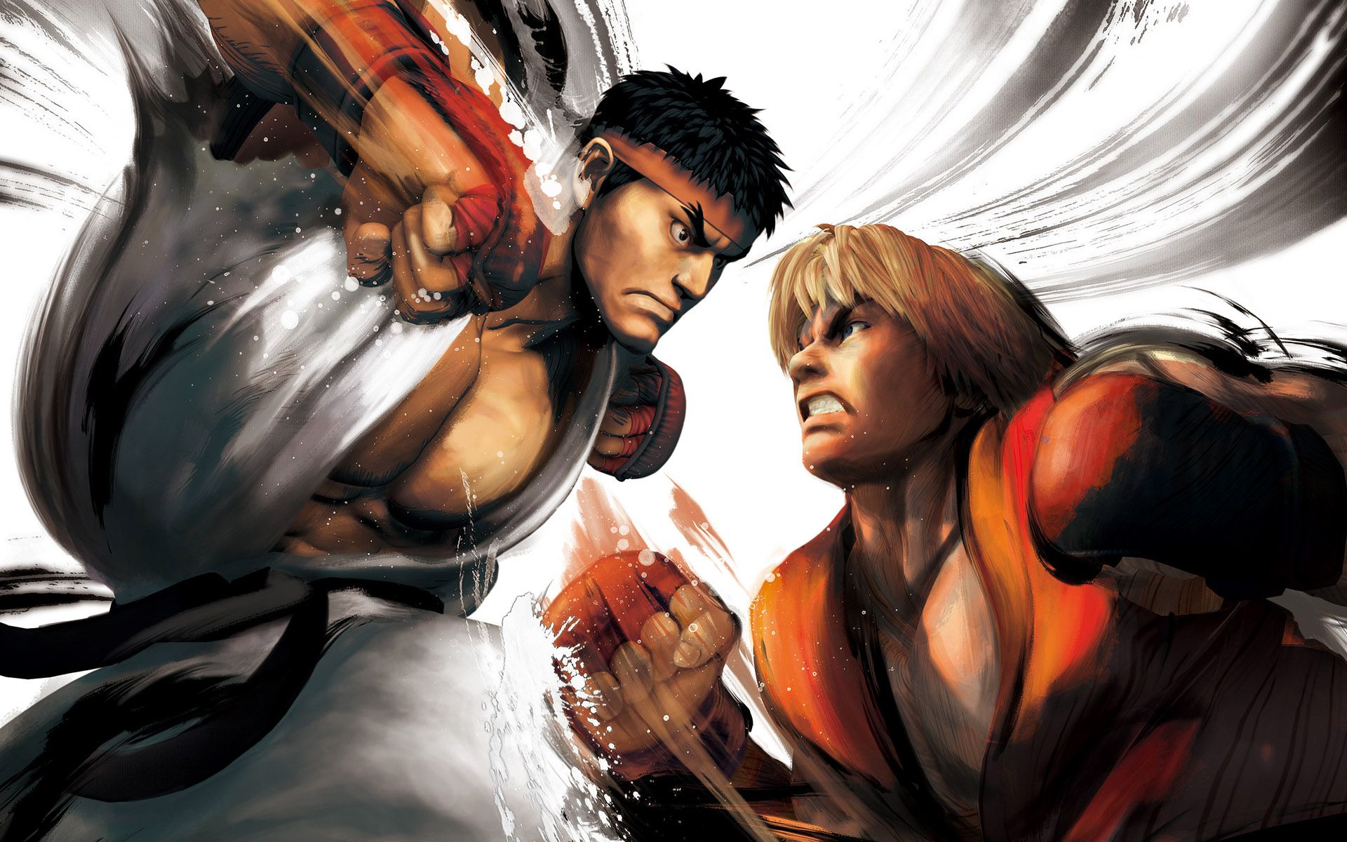 Street Fighter Battle of the Brothers