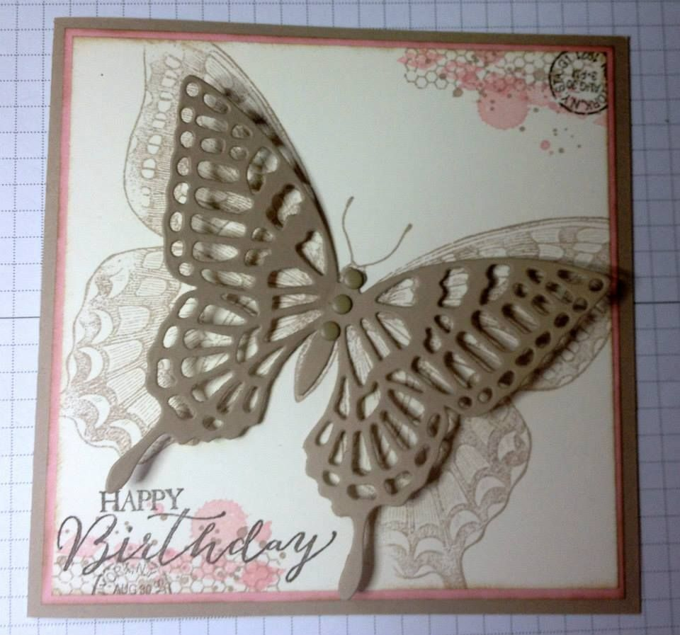 Butterfly Thinlits - Order yours at www.SimplySimpleStamping.com