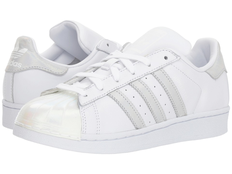 a4ab463448bd adidas Superstar (Big Kid) Originals Kids Girls Shoes White Iridescent
