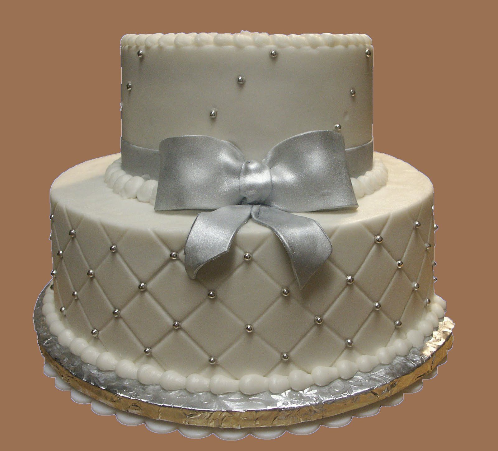Cake Ideas For Wedding Anniversary: Cakes And Cakes: 25TH Wedding Anniversary *Buttercream And