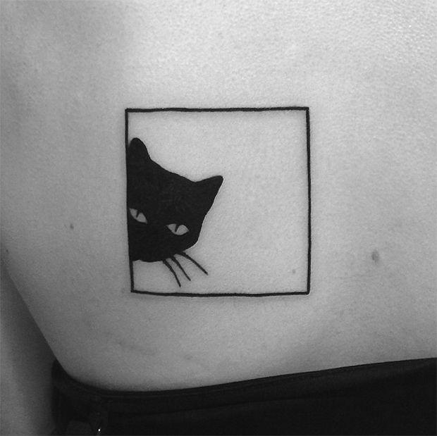 Yi Stropky tattoo blackwork