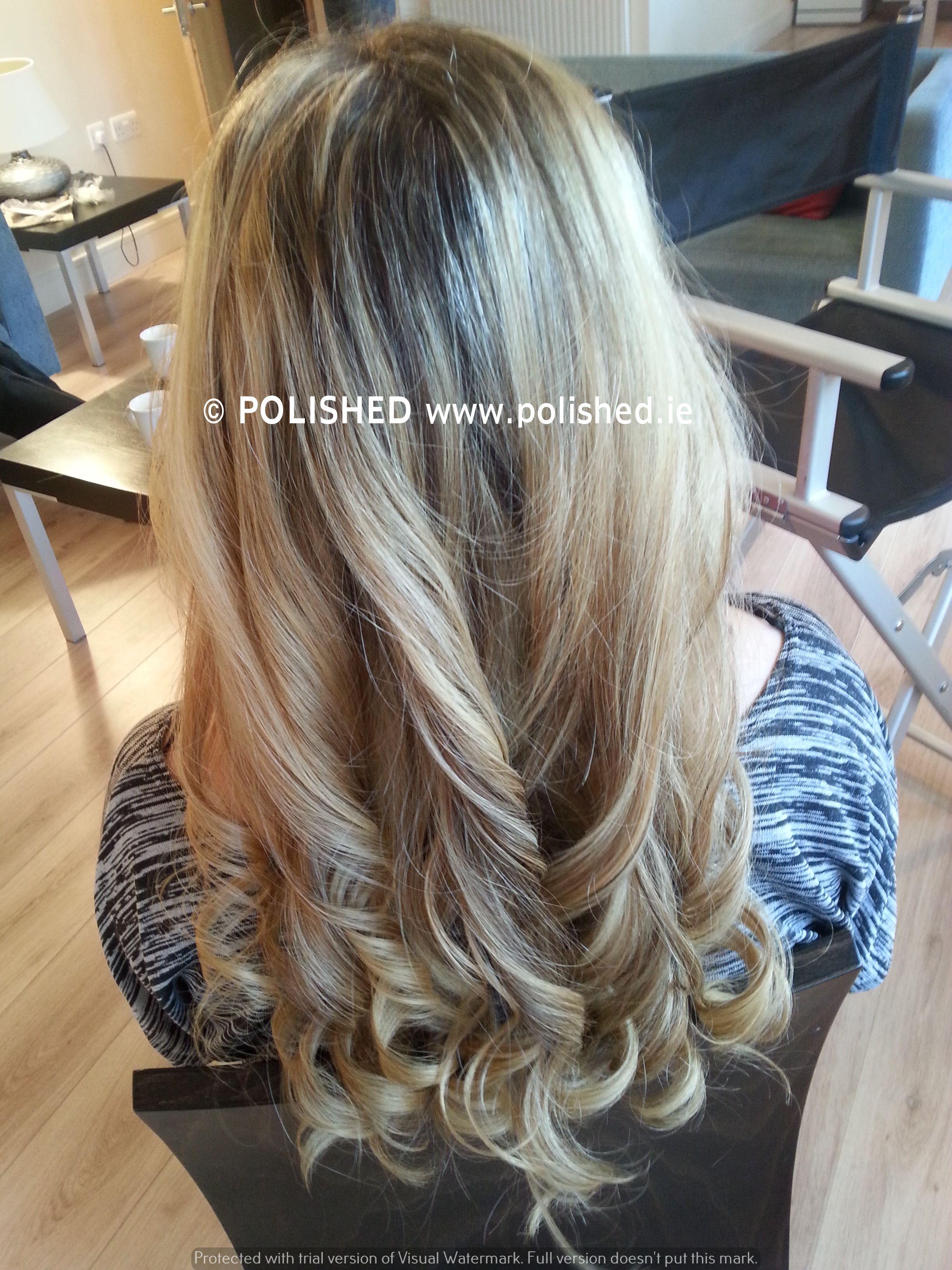 ghd curls i did for a wedding guest | wedding hair ideas