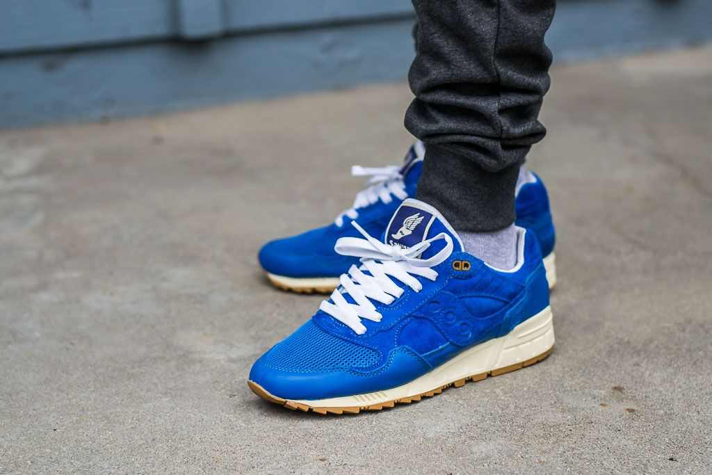 29dfb39bfa92 See how these Saucony Shadow 5000 Elite Bodega Blue look on feet in this  video review before you buy. Find out where you can buy some Shadow 5000s  online!