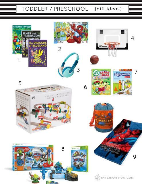 christmas gift ideas for toddler preschool aged boys and some gender neutral - Gender Neutral Christmas Gifts