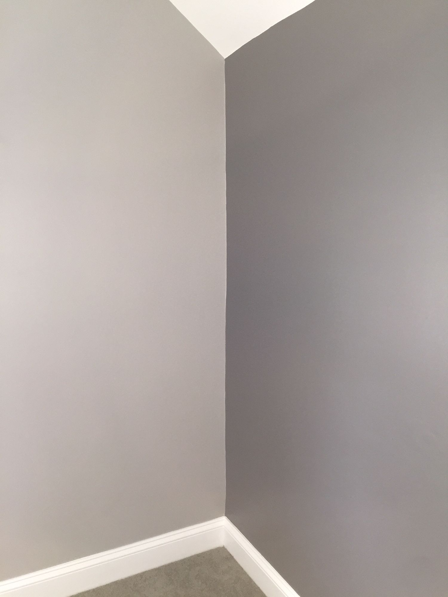 Paint Colors Benjamin Moore Storm And Stormy Sky AF 700 And 1616 Master Bedroom Basement
