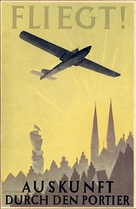 Early Air Transport posters - here: Take a Flight! For