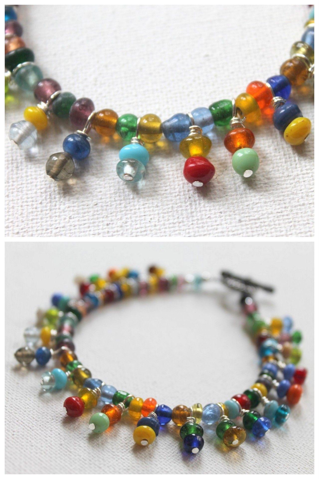 Diy bead dangle tutorial from emerging creativelytutorials