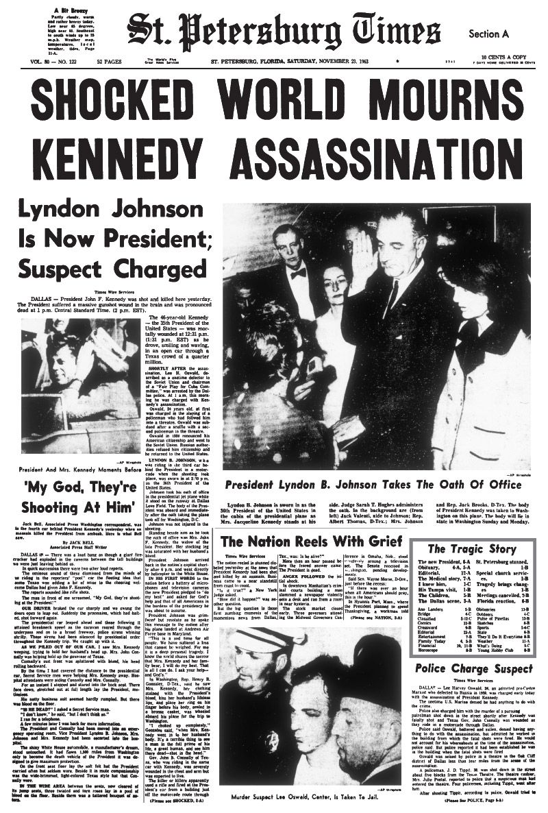 the assassination of president kennedy essay Looking for a good paper discussing the various theories around the assassination of john f kennedy the following essay example will come in handy  president on .